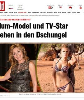 Klum-Model und TV-Star ziehen in das Dschungelcamp 2015 - TV - Bild.de