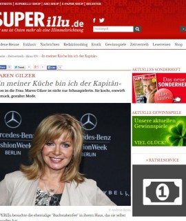 Maren Gilzer   Interview   TV   Kino TV   SUPERillu.de