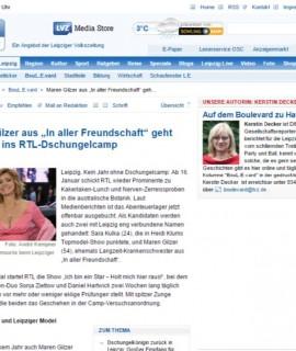 """Maren Gilzer aus """"In aller Freundschaft"""" geht offenbar ins RTL-Dschungelcamp - BouL.E.vard - Leipzig - LVZ-Online"""